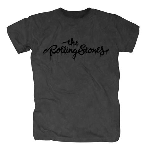 √Black Logo von The Rolling Stones - T-Shirt jetzt im Bravado Shop