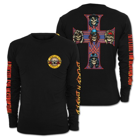 √Locked N Loaded Bullet von Guns N' Roses - Long-sleeve jetzt im Bravado Shop