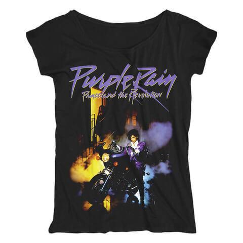 √Purple Rain von Prince - Loose Fit Girlie Shirt jetzt im Bravado Shop