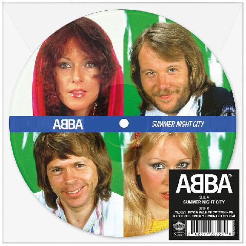 "Summernight City (Limited 7"" Picture Disc) von ABBA - Picture Single jetzt im Bravado Store"