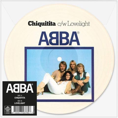 """Chiquitita (Limited 7"""" Picture Disc) von ABBA - Picture Single jetzt im Bravado Store"""