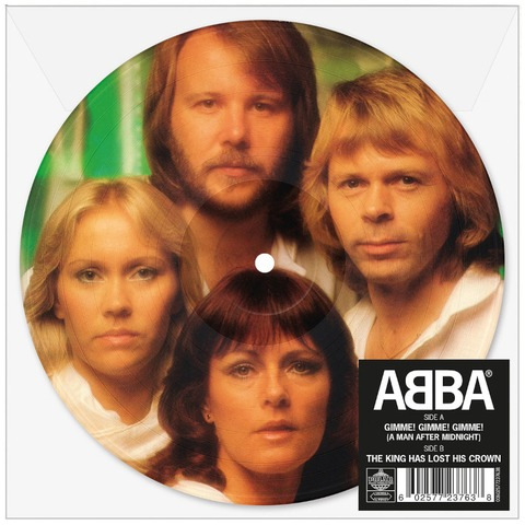 """Gimme! Gimme! Gimme! (Limited 7"""" Picture Disc) von ABBA - Picture Single jetzt im Bravado Store"""