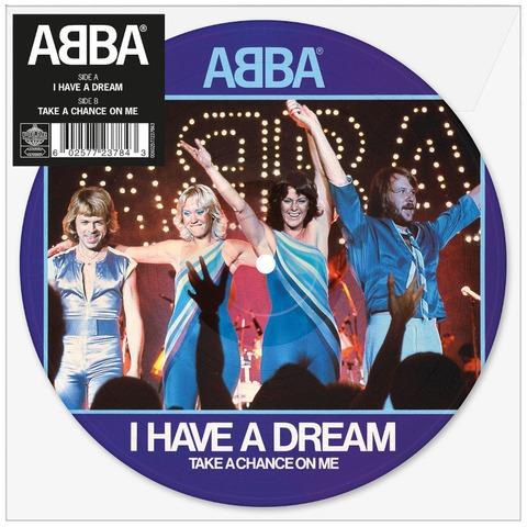 """I Have A Dream (Limited 7"""" Picture Disc) von ABBA - Picture Single jetzt im Bravado Store"""
