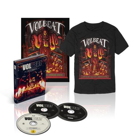 √Let's Boogie! Live (CD/BluRay/T-Shirt/Poster Bundle) von Volbeat - CD jetzt im Bravado Shop