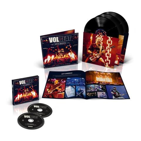 √Let's Boogie! Live (Vinyl/CD Bundle) von Volbeat - LP jetzt im Bravado Shop
