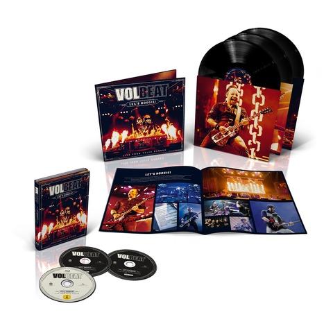√Let's Boogie! Live (Vinyl/CD/BluRay Bundle) von Volbeat - LP jetzt im Bravado Shop