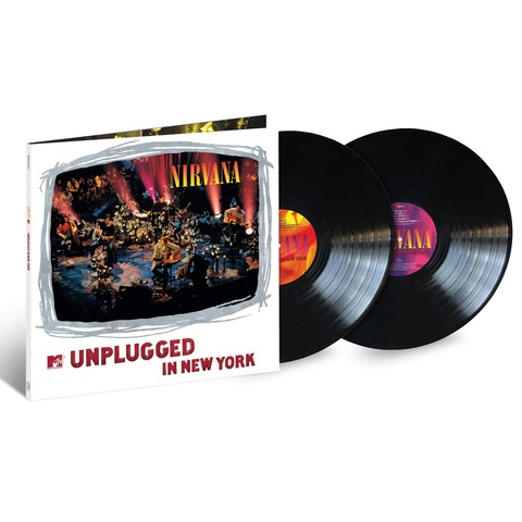 √MTV Unplugged Live in New York - 25th Anniversary Edition von Nirvana - 2LP jetzt im Bravado Shop