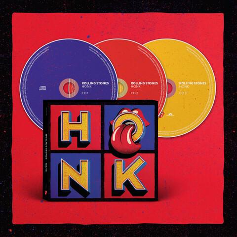 √Honk (3CD) von The Rolling Stones - CD jetzt im Bravado Shop