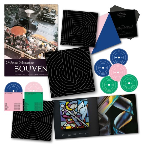 √Souvenir (Ltd. 5CD/2DVD Boxset) von Orchestral Manoeuvres In The Dark - Box set jetzt im Bravado Shop