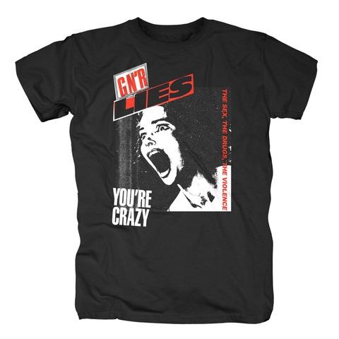 √Lies Crazy von Guns N' Roses - T-Shirt jetzt im Bravado Shop