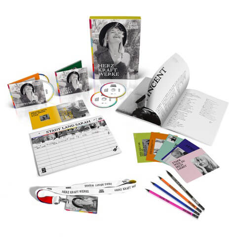 HERZ KRAFT WERKE (ltd Fanbox) von Sarah Connor - Box jetzt im Bravado Shop