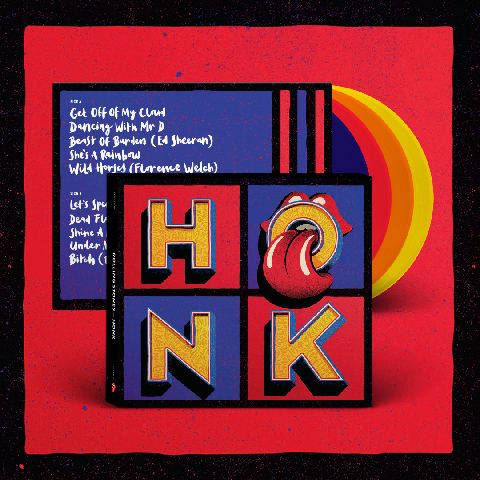 √Honk (Excl. Coloured 4LP) von The Rolling Stones - LP jetzt im Bravado Shop