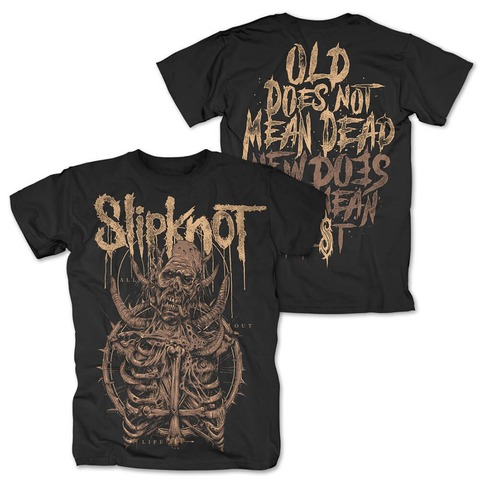 √All Out Life Skeleton von Slipknot - T-Shirt jetzt im Bravado Shop