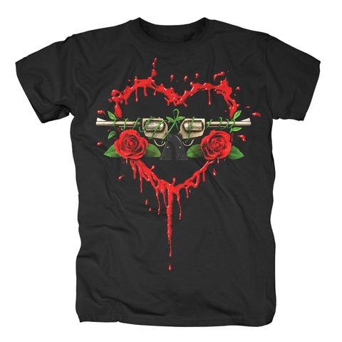 √Bloody Bullet Heart von Guns N' Roses - T-Shirt jetzt im Bravado Shop