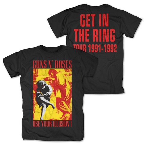 √Illusion - Get In The Ring von Guns N' Roses - T-Shirt jetzt im Bravado Shop