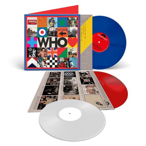 √Who (Ltd. Deluxe LP incl. 7'' Bonus) von The Who - LP jetzt im Bravado Shop