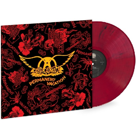 √Permanent Vacation (Ltd. Coloured LP) von Aerosmith - LP jetzt im Bravado Shop