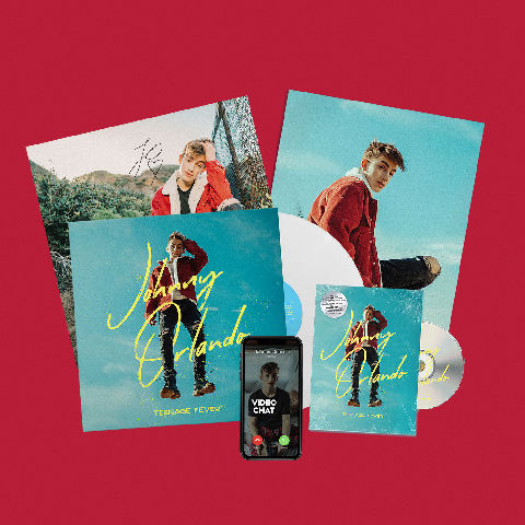 √Teenage Fever (Fan Streaming Bundle) von Johnny Orlando - LP jetzt im Bravado Shop