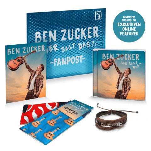 √Wer sagt das?! (Ltd. Fanpost Edition) von Ben Zucker - CD jetzt im Bravado Shop