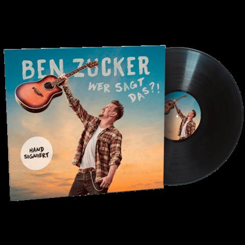 √Wer sagt das?! (Exkl. Limitierte Signierte LP) von Ben Zucker - LP jetzt im Bravado Shop