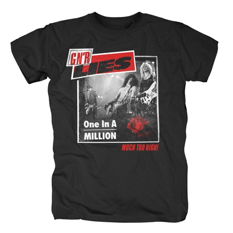 √One In A Million von Guns N' Roses - T-Shirt jetzt im Bravado Shop