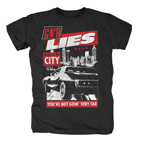 √Move To The City von Guns N' Roses - T-Shirt jetzt im Bravado Shop