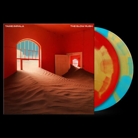 √The Slow Rush (Ltd. Coloured LP) von Tame Impala - 2LP jetzt im Bravado Shop