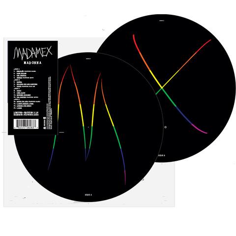 √Madame X (Ltd. Rainbow Picture Disc 2 LP) von Madonna - LP jetzt im Bravado Shop