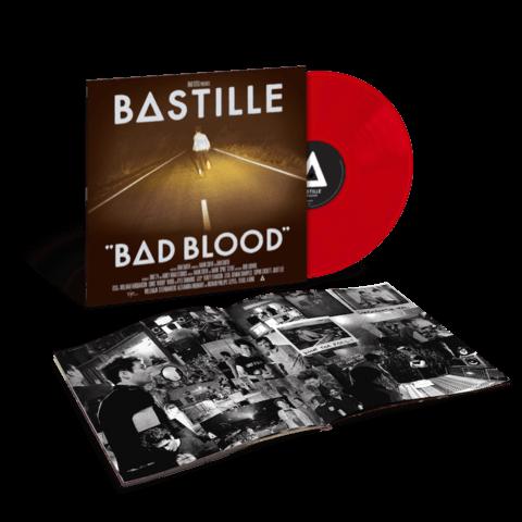 √Bad Blood (Ltd. Red Vinyl) von Bastille - LP jetzt im Bravado Shop