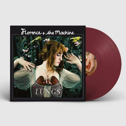 √Lungs (10th Anniversary - Coloured LP) von Florence + the Machine - LP jetzt im Bravado Shop
