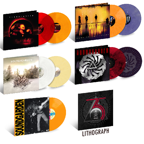 √Soundgarden 35th Anniversary Bundle (inkl. Litho) von Soundgarden - LP jetzt im Bravado Shop