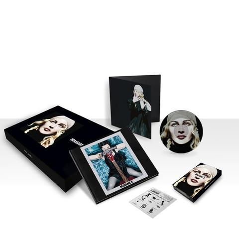 √Madame X (Ltd. Deluxe Box Set) von Madonna - Box jetzt im Bravado Shop