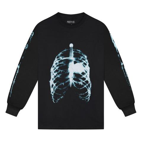 √Skeleton X-Ray von Post Malone - Unisex Longsleeve jetzt im Bravado Shop