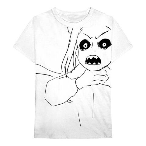 √Scary Sketch von Billie Eilish - Unisex Shirt jetzt im Bravado Shop