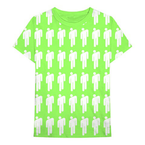 √Blohsh Pattern von Billie Eilish - Unisex Shirt jetzt im Bravado Shop