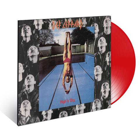 √High 'N' Dry (Ltd. Coloured LP) von Def Leppard - LP jetzt im Bravado Shop