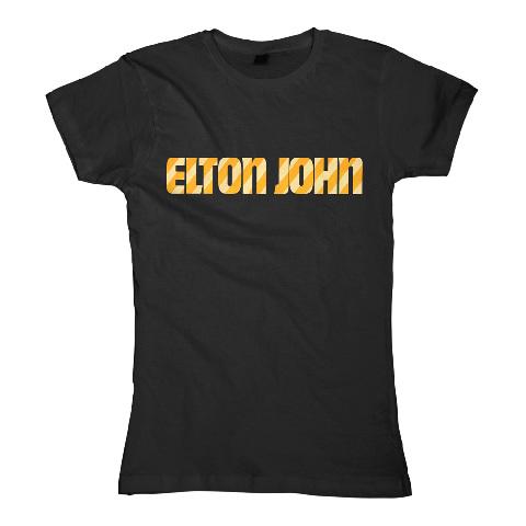 √Stripe Logo von Elton John - Girlie Shirt jetzt im Bravado Shop