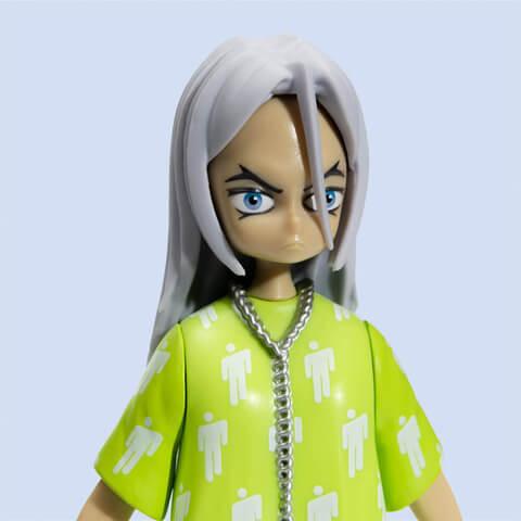 Billie Eilish x Takashi Murakami Limited Edition Vinyl Figure von Billie Eilish - Figur jetzt im Bravado Shop