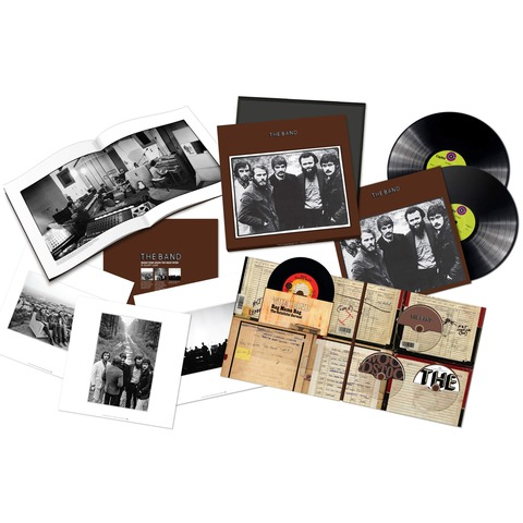The Band 50th Anniversary Edition (Ltd. Super Deluxe Box) von The Band - Boxset jetzt im Bravado Shop