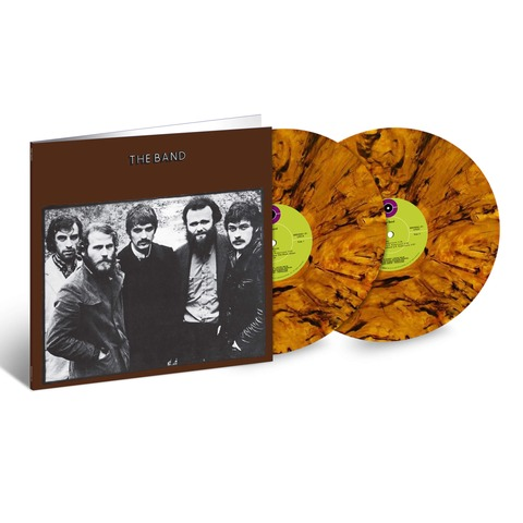The Band 50th Anniversary (Ltd. Colour LP) von The Band - 2LP jetzt im Bravado Shop