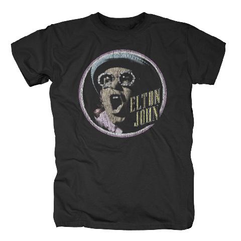 √Vintage Circle von Elton John - T-Shirt jetzt im Bravado Shop