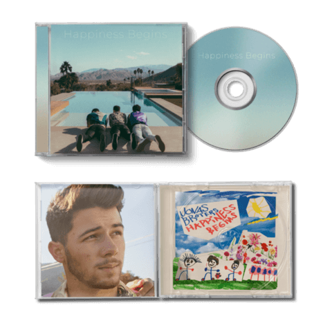 √Happiness Begins (Ltd. Nick Version) von Jonas Brothers - CD jetzt im Bravado Shop