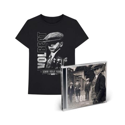 √Rewind, Replay, Rebound (CD + T-Shirt Bundle, Größe L) von Volbeat -  jetzt im Bravado Shop