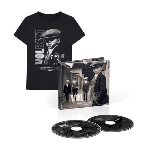 √Rewind, Replay, Rebound (Ltd. Deluxe CD + T-Shirt Bundle, Größe L) von Volbeat -  jetzt im Bravado Shop