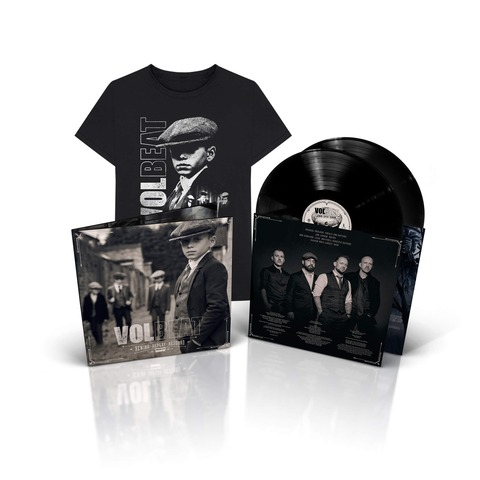 √Rewind, Replay, Rebound (2LP & T-Shirt Bundle, Größe L) von Volbeat - LP Bundle jetzt im Bravado Shop