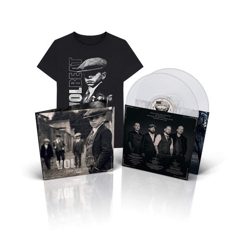 √Rewind, Replay, Rebound (Ltd. Clear 2LP & T-Shirt Bundle) von Volbeat - LP Bundle jetzt im Bravado Shop