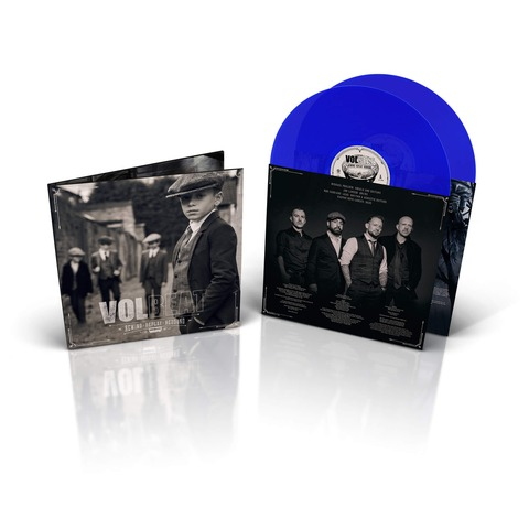 √Rewind, Replay, Rebound (Ltd. Blue 2LP, inkl. MP3 Code) von Volbeat - LP jetzt im Bravado Shop