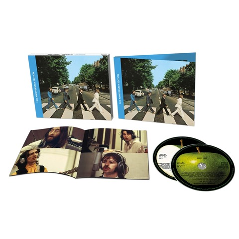√Abbey Road Anniversary Edition (Ltd. Deluxe 2CD) von The Beatles - 2CD jetzt im Bravado Shop