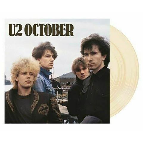 √October (Ltd. Coloured LP) von U2 - LP jetzt im Bravado Shop