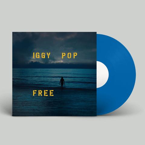 Free (Ltd. Ocean Blue Deluxe Vinyl) von Iggy Pop - LP jetzt im Bravado Shop